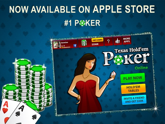 Texas Hold'em Poker Online on the App Store