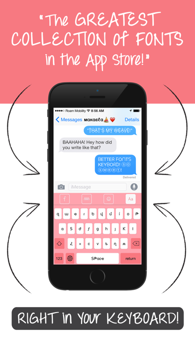 Screenshot for Better Font-s Cool Keyboard-s in Germany App Store