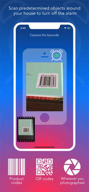 ‎FreakyAlarm — Games & Barcodes Screenshot