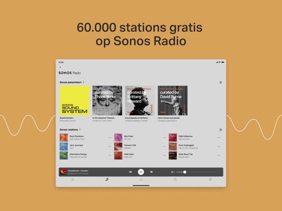 Sonos iPad app afbeelding 5