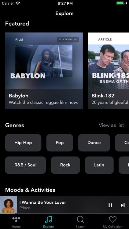 TIDAL Music - Streaming screenshot-3