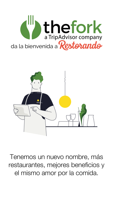 Screenshot for TheFork - antes Restorando in Venezuela App Store