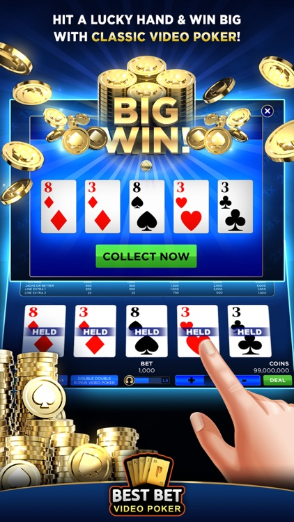Best Bet Video Poker|50+ Games screenshot-6