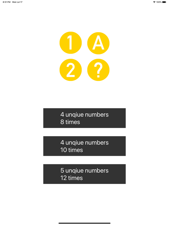 Guess Number - 1A2B screenshot #4