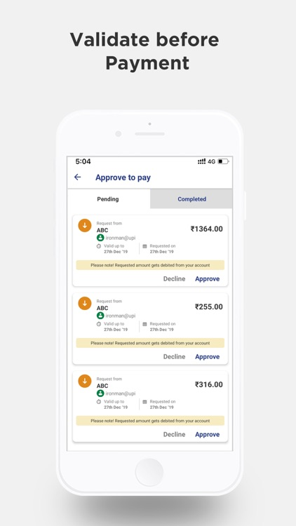 BHIM – Making India Cashless screenshot-3