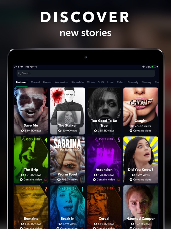 iPad Image of Yarn - Chat & Text Stories