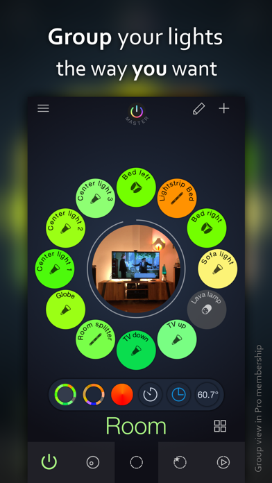Screenshot for iConnectHue for Philips Hue in United States App Store
