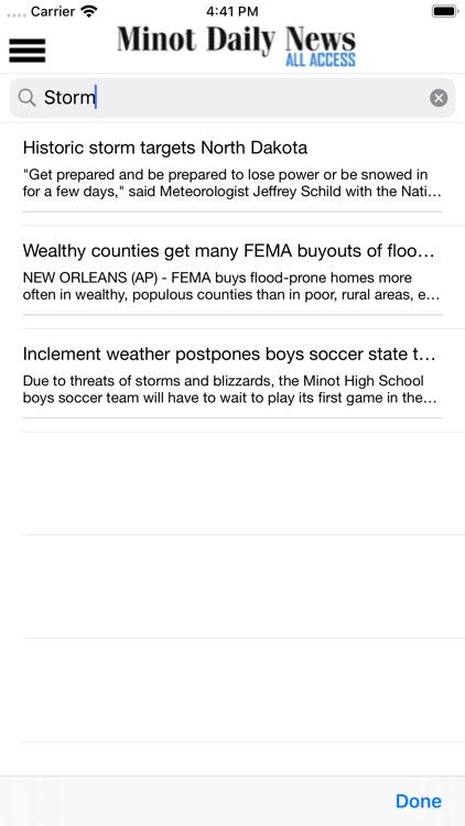 Minot Daily News All Access screenshot-6
