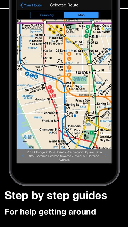 New York Subway MTA Map screenshot-3