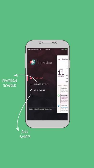 Timeline App Screenshot