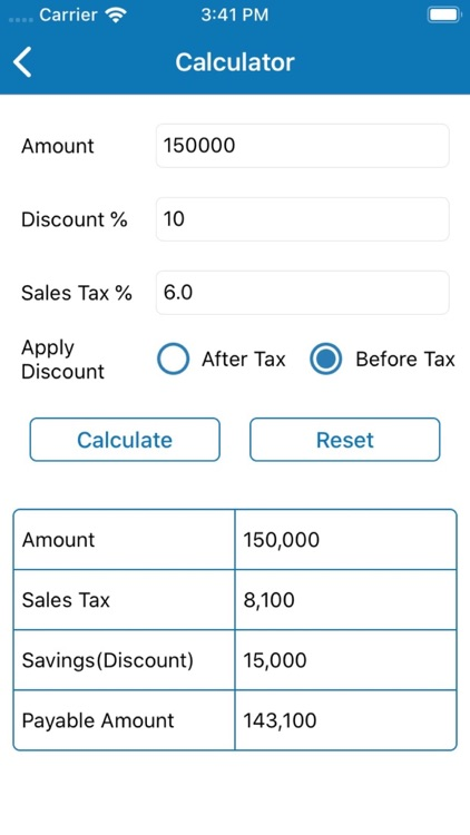 Discount Calculator - SalesTax