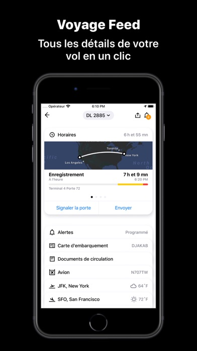 App in the Air capture décran