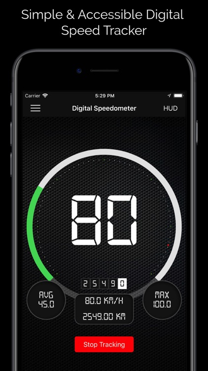 Digital Speed Tracker PRO