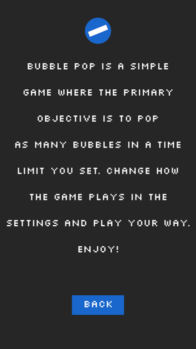Bubble pop Can't stop the game screenshot 4