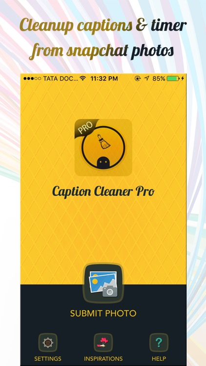 Clean Caption Pro for Snapchat screenshot-3