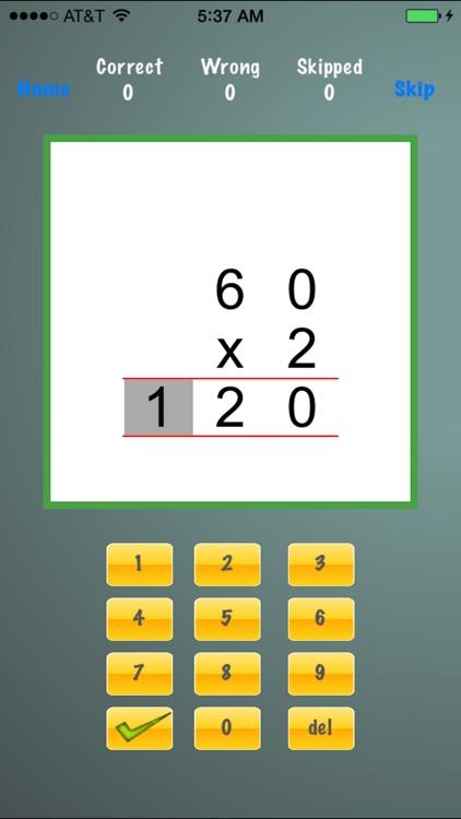 Drill Long Multiplication screenshot-4