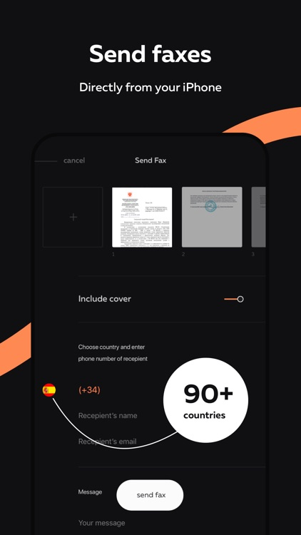 ScanFax: Doc Scanner & Fax Pro