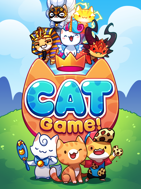 Cat Game - The Cats Collector! на iPad