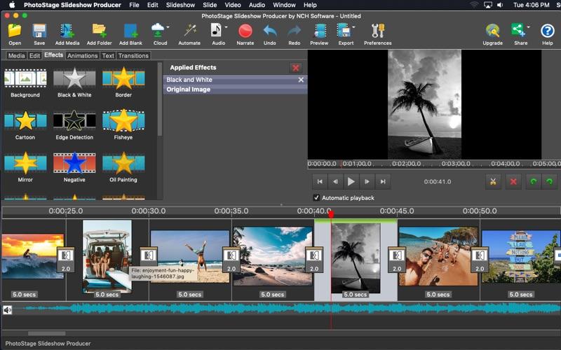 PhotoStage Slideshow Producer Free Screenshot