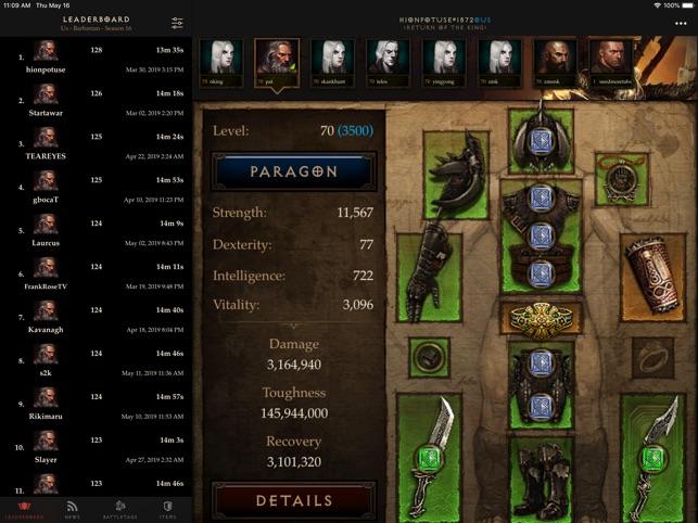 Nephalem - Diablo 3 Companion on the App Store