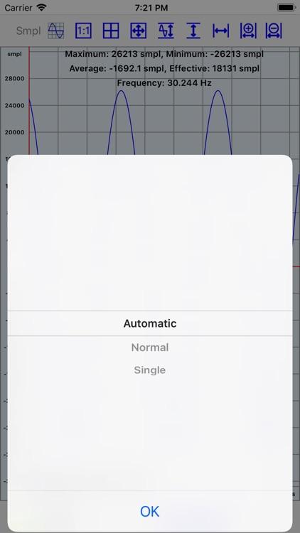 Mobile Oscilloscope screenshot-5