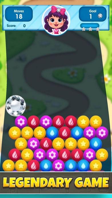 Balls Primitive: Bubble Pop screenshot 1