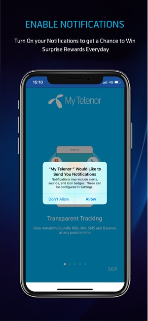 My Telenor on the App Store