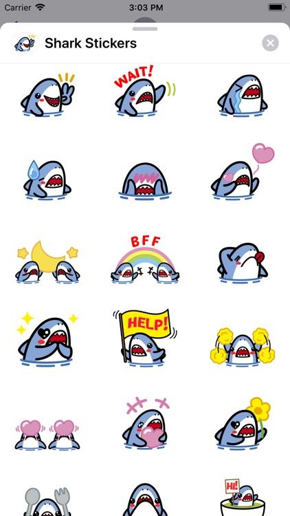 Shark Doo Doo: Sticker App screenshot-3