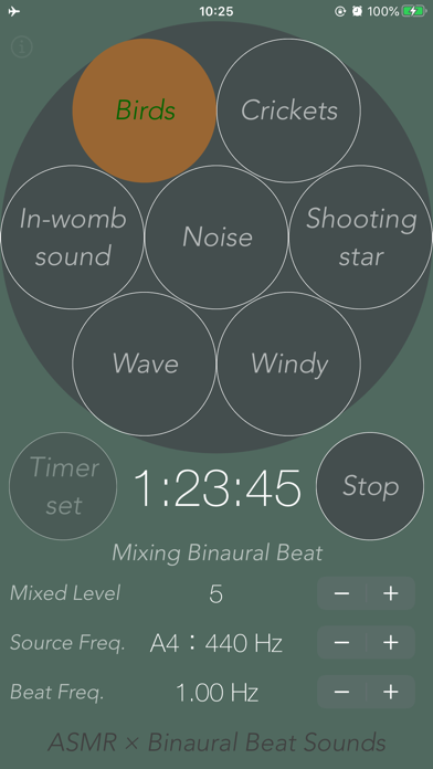 Synthetic Healing Sounds screenshot two