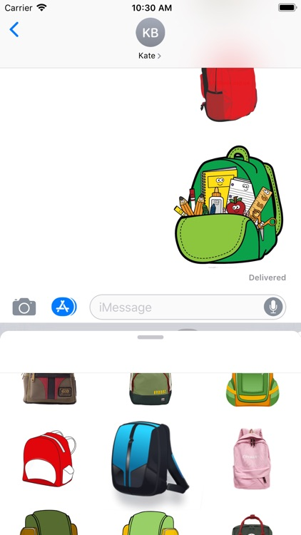 Backpacks Stickers screenshot-4
