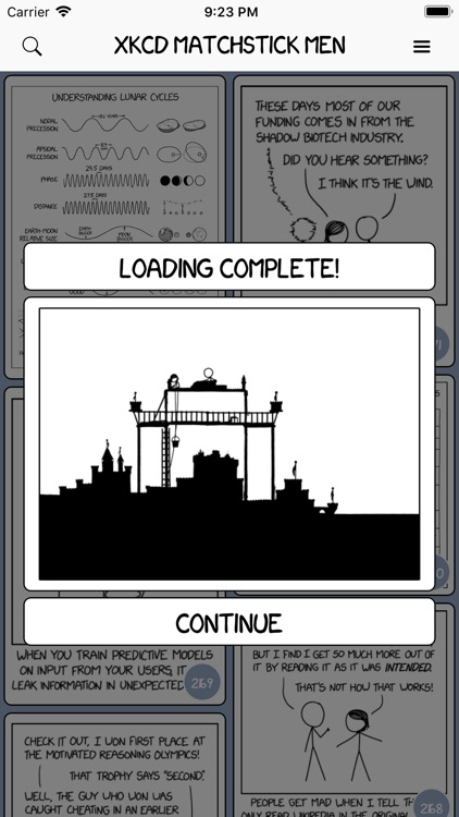 XKCD Matchstick Men screenshot-1