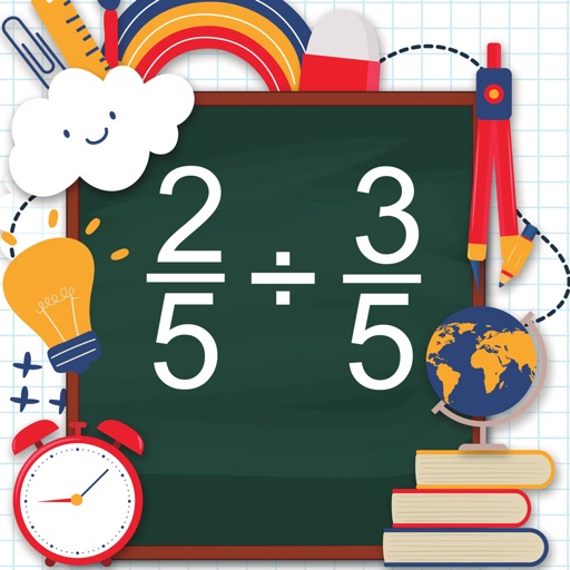 Math Shot Dividing Fractions