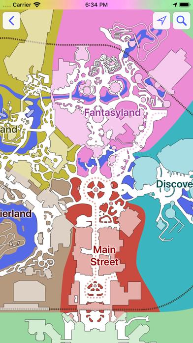 Maps for Disneyland Paris screenshot