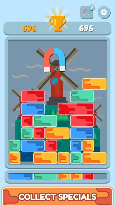 Block Master: Drop Down Puzzle Screenshot on iOS
