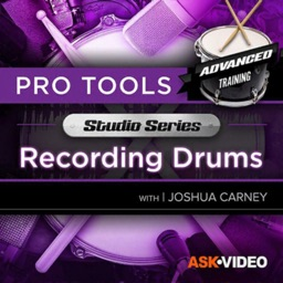 Recording Drums Course By AV