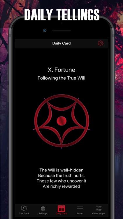 Satanic Tarot for the damned screenshot-6