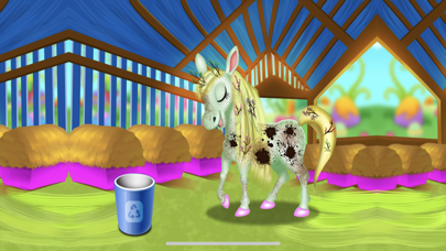 Cute Horse Unicorn : Hair Care screenshot 2