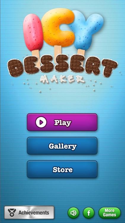 Icy Dessert Maker screenshot-4