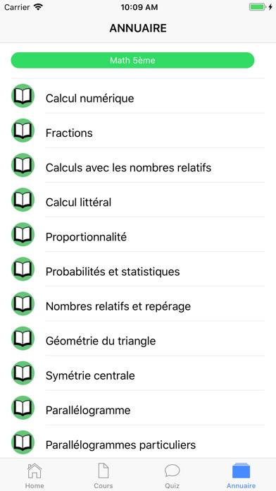 Maths 5ème screenshot 6