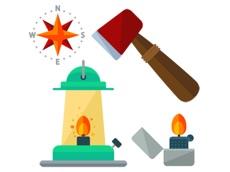 Activities of Outdoor Pack Stickers