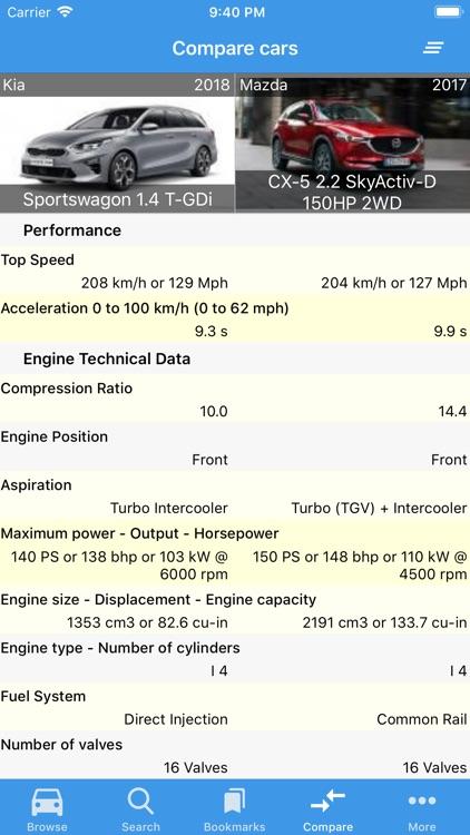 Cars Database screenshot-7