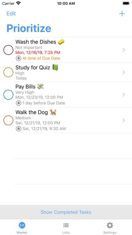 Prioritize: Organized To-Do screenshot-3