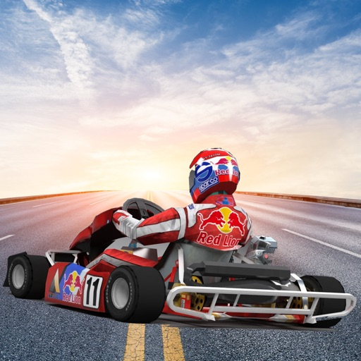 Traffic Go Kart Racer 3D
