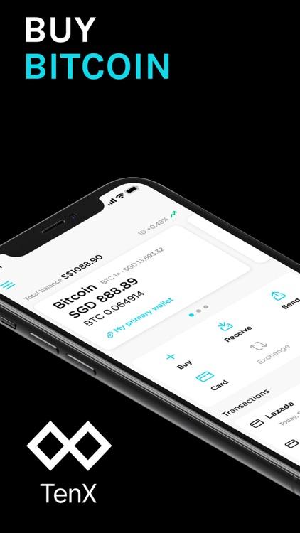 TenX - Buy Bitcoin & Card