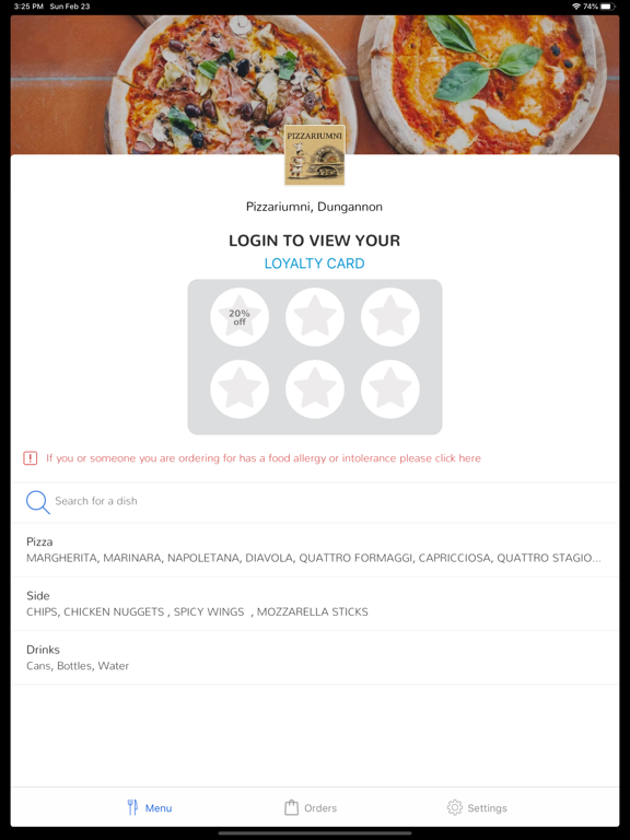 Pizzariumni, Dungannon screenshot 4