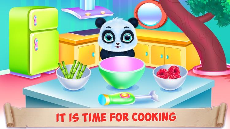 Panda Caring and Dress Up screenshot-4