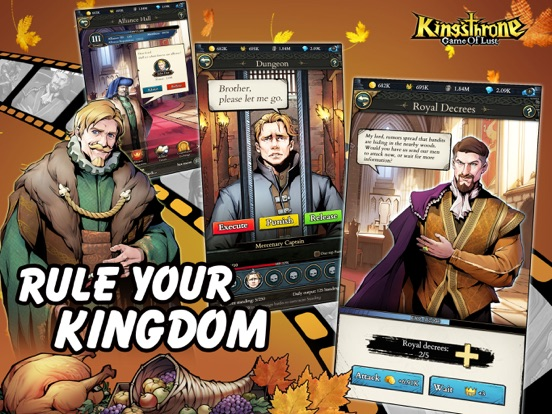 King's Throne: Game of Lust screenshot 11