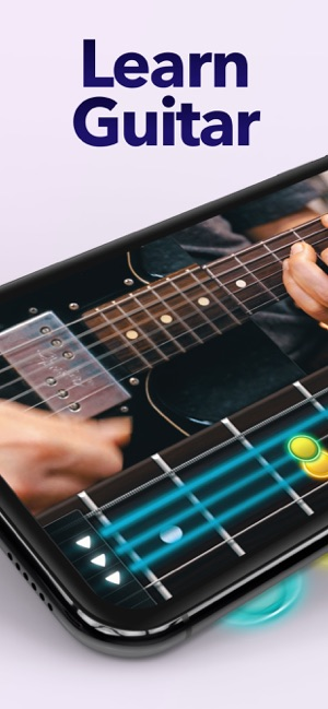 Coach Guitar Lessons tuner tab on the App Store