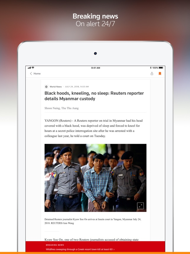 Reuters News on the App Store