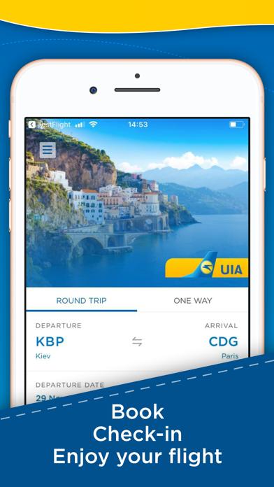 Screenshot for FlyUIA: Cheap airline tickets in Azerbaijan App Store